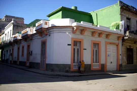 Casa hostal en Centro Habana. Fotografía tomada de Internet