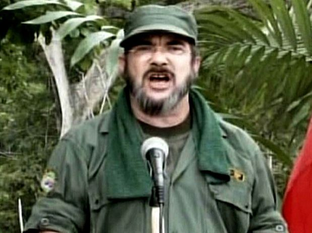 Timochenko, el alias del mximo jefe de las FARC. Un jefe de guerrillas que se dice emocionado por la paz