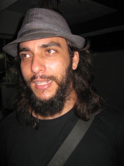 El Ciro con su sombrero
