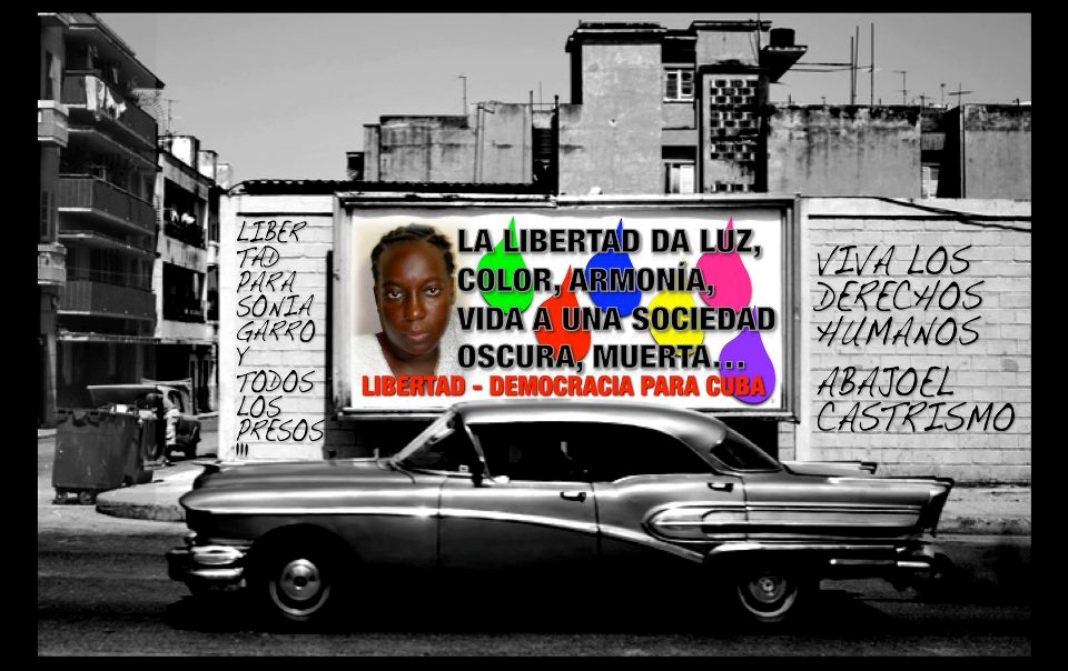 , harmony, life to a dark dead society. Freedom-Democracy for Cuba